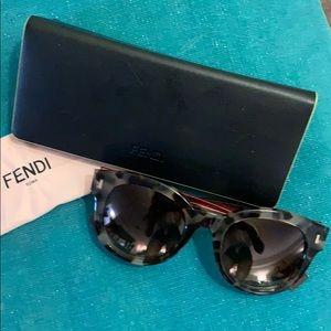 Fendi Roma Tortoise Shell Sunglasses